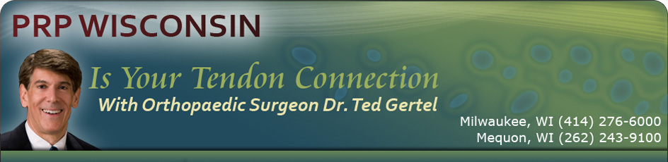 PRP Wisconsin Is Your Tendon Connection